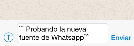 Vídeo Whatsapp Tiene Un Nuevo Tipo De Letra Y Así Puedes Cambiarla