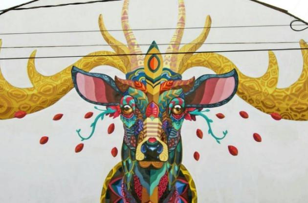 Murales De Los Mexicanos