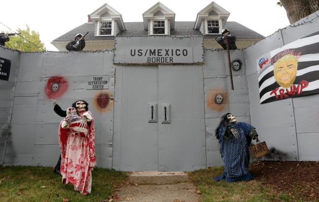 fotos de muros para frentes de casas Idea Para Decorar Tu Casa Este Halloween Construir El Muro