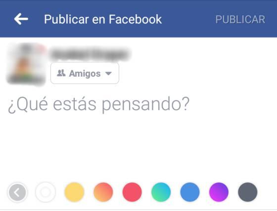 guía para que tus estados en facebook ahora tengan color verne el paÍs