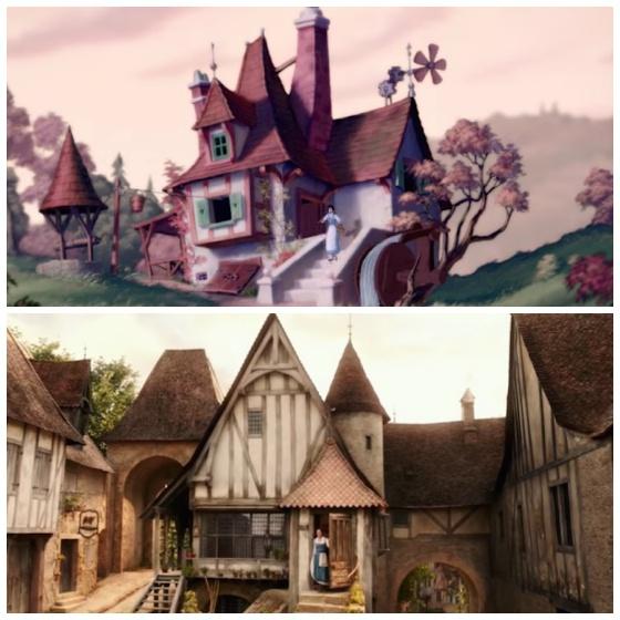 esta es la casa de bella