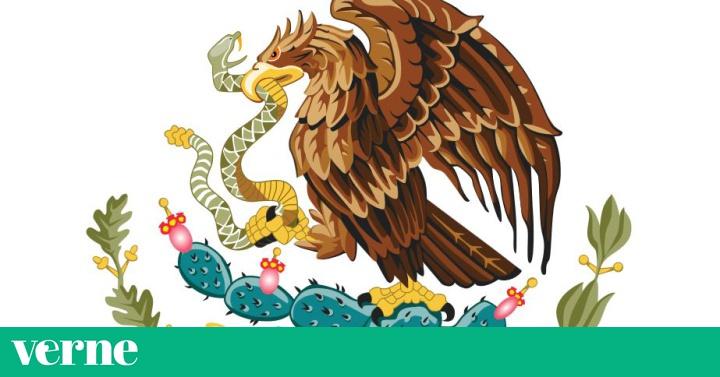 los simbolos de la bandera de mexico