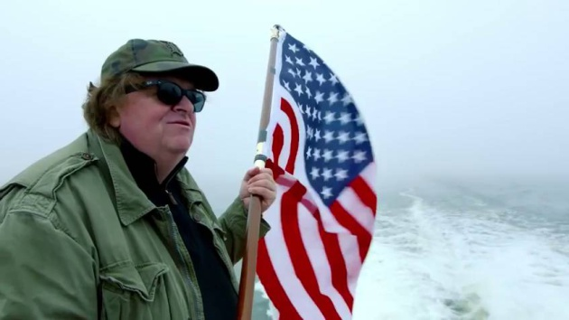 Michael Moore en su documental 'Where to invade next' (2015)