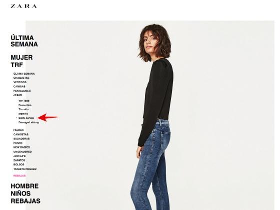 A Curvas' Modelos Por Críticas 'ama Zara Con El Lema Tus Asociar vmNyn0wO8