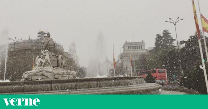 R pido abrid twitter nieve en madrid verne el pa s - Casarse rapido en madrid ...