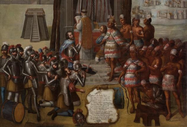 'La consagración de los templos' de José Vivar y Valderrama