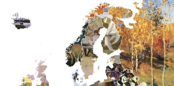 Obras de arte por países: el mapa de Europa con sus cuadros más ...