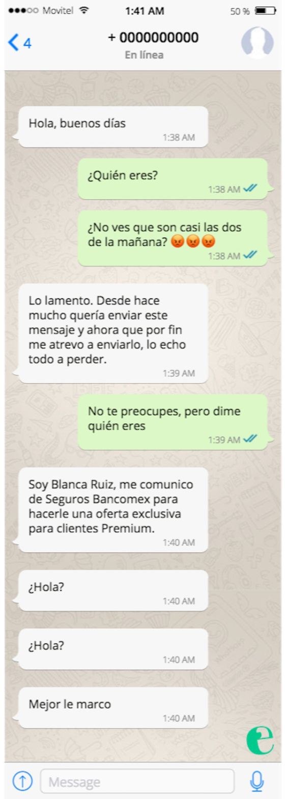 Asi Nos Imaginamos Los Chats Menos Romanticos De Tamara Y