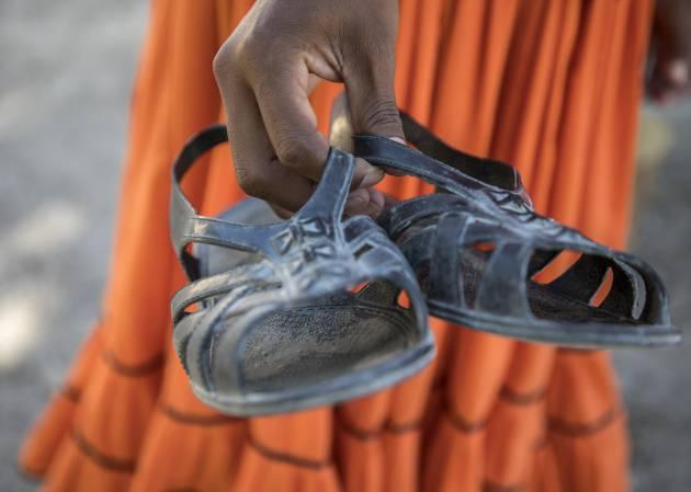Los rarámuris que se acostumbran a correr desde pequeños con huaraches desarrollan una técnica de carrera perfecta, mucho mejor que la de cualquier corredor popular con zapatillas