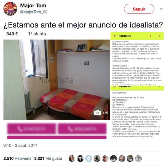 3,382 Pisos para compartir en España