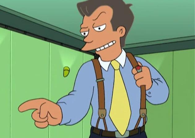 Steve Castle, el tipo de los 80, de 'Futurama'