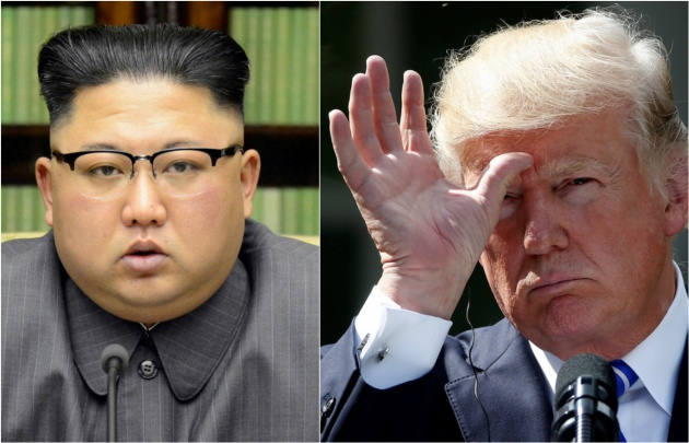 Donald Trump ameaçou, através do Twitter, travar uma guerra nuclear contra a Coreia do Norte