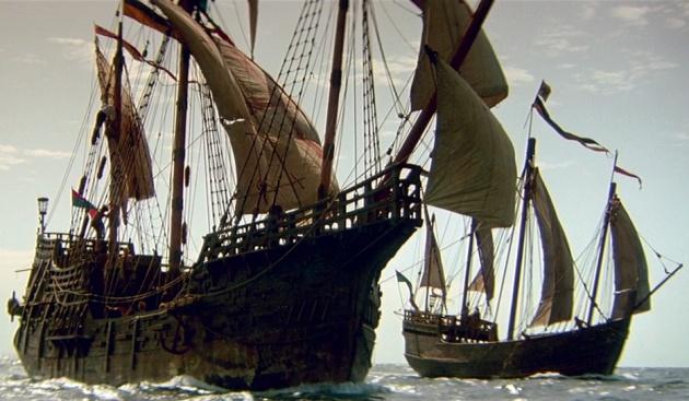 Una imagen de '1492: la conquista del paraíso', de Ridley Scott
