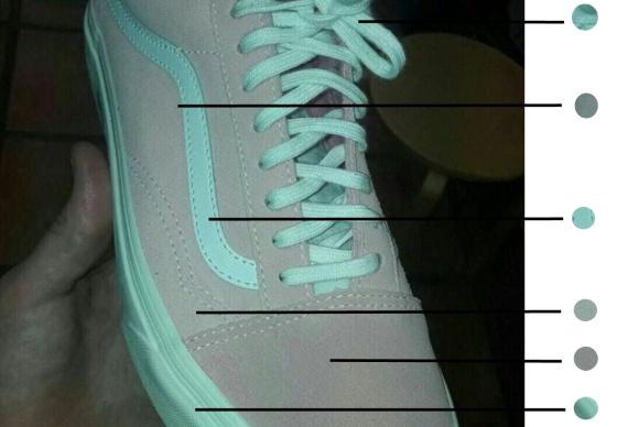 4d6451f2610 Tus ojos vuelven a engañarte con esta zapatilla rosa y blanca (o ...