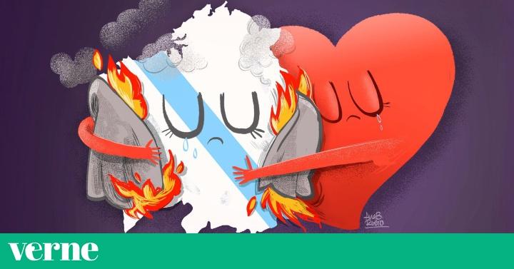 Galicia Arde Y Llora En Estas Ilustraciones Verne El País