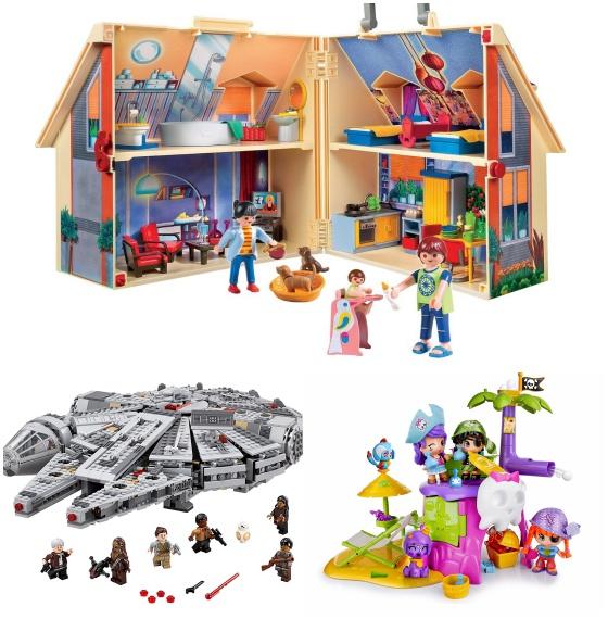 3cdff97e284f La Casa Maletín de Playmobil, el Halcón Milenario de LEGO y La isla mágica  de piratas y sirenas de Pinypon