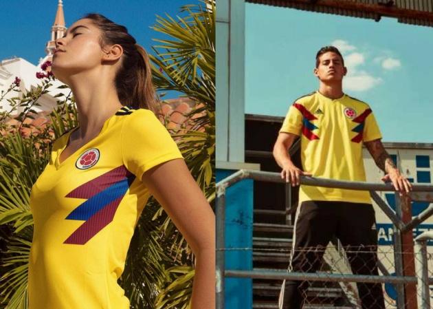 Camiseta Adidas Lucir Una Modelo La Elige A Selección Para De ARjS354Lcq