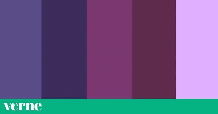 El color de 2018 es un tono de violeta sabr as distinguirlo verne el pa s - Gama de colores morados ...