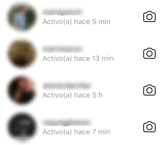 Instagram avisa de tu última conexión a tus contactos, pero