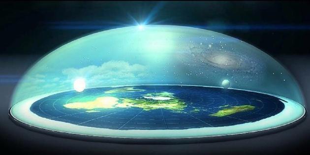 Resultado de imagen de realidad terraplanista
