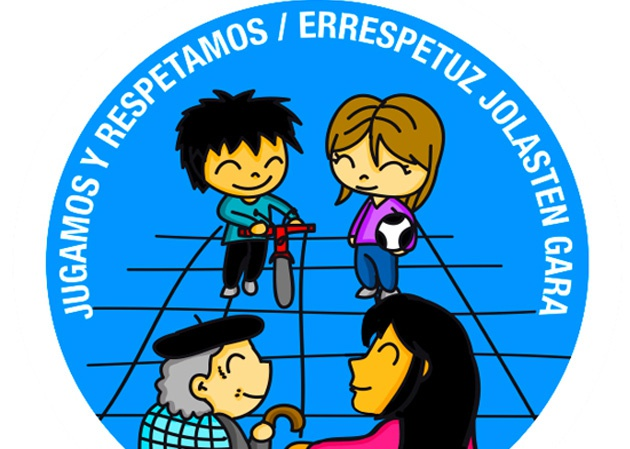 La señal ha sido diseñada por Aitor Unzu y puede leerse en español y en euskera