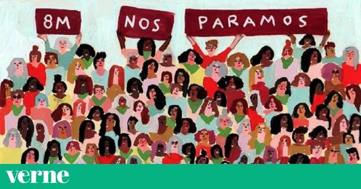 Resultado de imagen de El 8 de marzo es arte en estos carteles a favor de la huelga