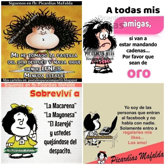 Las Viñetas Falsas De Mafalda Con Más De Un Millón De Seguidores