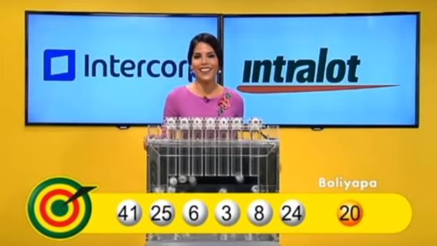 Una imagen del sorteo de La Tinka.