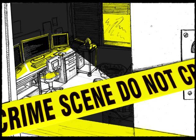 La escena del crimen - cover