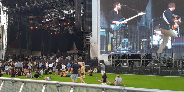 Esta era la distancia más cercana al escenario adquiriendo una entrada normal en el festival Mad Cool / Patricia Fernández de Lis
