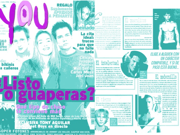 Revista You de junio de 1998.