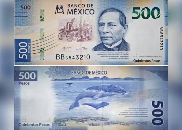Resultado de imagen para billete de 500 pesos mexicanos