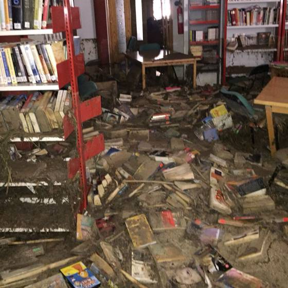 La Biblioteca De Un Pueblo De Toledo Recibe 2 000 Libros Donados Tras Una Riada Verne El País