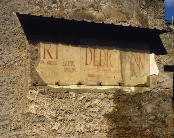 """""""Gneo Alleo estuvo aquí"""": los grafitis en la Roma clásica"""