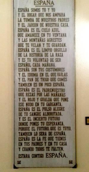 Que Es Espana Teodoro Garcia Responde Con Un Poema Que Menciona La