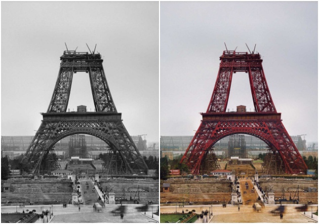 1888: la torre Eiffell en construcción / Roger Viollet (Getty)