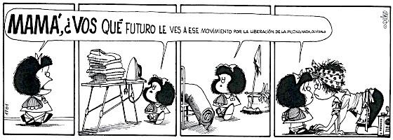 Mafalda, 50 anos de feminismo em tirinhas