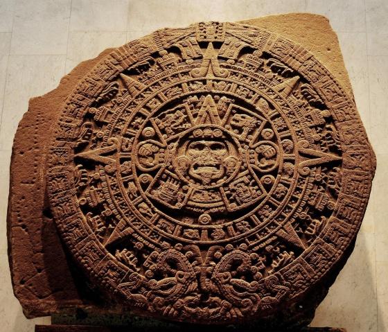 Calendario Solar Maya.Si Unes Cuatro Monedas De Mexico Puedes Formar El Calendario
