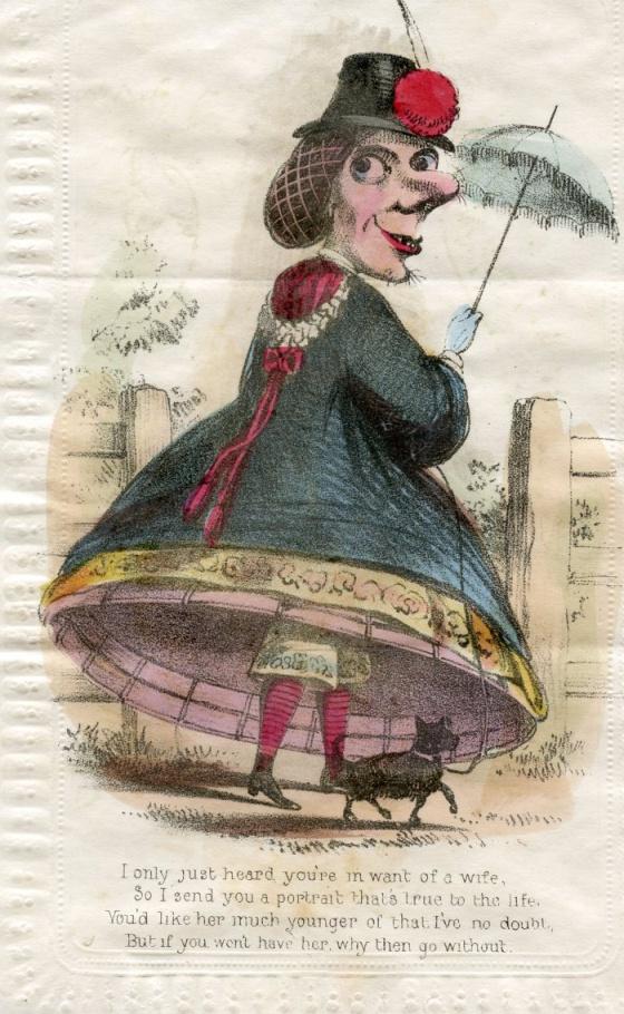 La tradición del siglo XIX de lanzarse insultos en vez de piropos por San Valentín