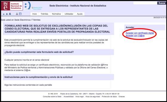 No propaganda electoral