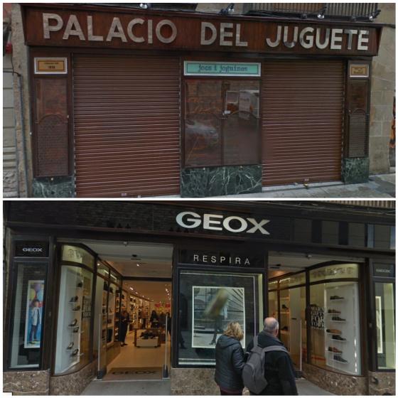 empujar Esperar Debe  De tienda centenaria a franquicia: el antes y después de los comercios  históricos de Barcelona | Verne EL PAÍS