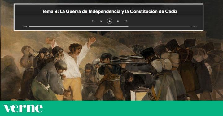 Un podcast para aprobar Historia en selectividad es de los más escuchados de España