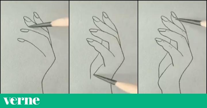 Dibujar Manos Es Mucho Más Difícil De Lo Que Parece En Este