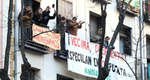 En el número 11 de la calle Argumosa de Madrid convivían propietarios, inquilinos de renta antigua, morosos y vecinos que se negaban a pagar