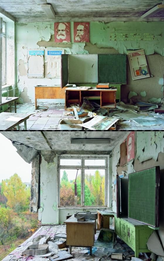O fotógrafo que captura a passagem do tempo na abandonada Tchernobil