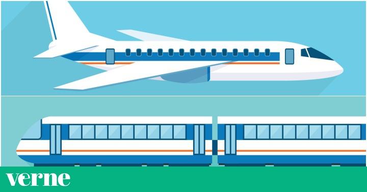 Una hora en avión, dos en tren: la iniciativa ecológica para prohibir los vuelos cortos