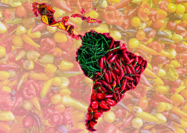 El chile, un regalo de Latinoamérica para el mundo