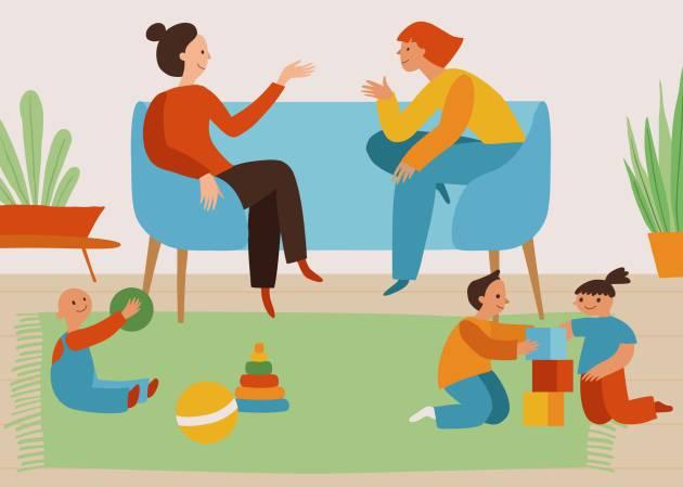 Cómo cambia la amistad cuando tus amigas tienen hijos | Verne EL PAÍS